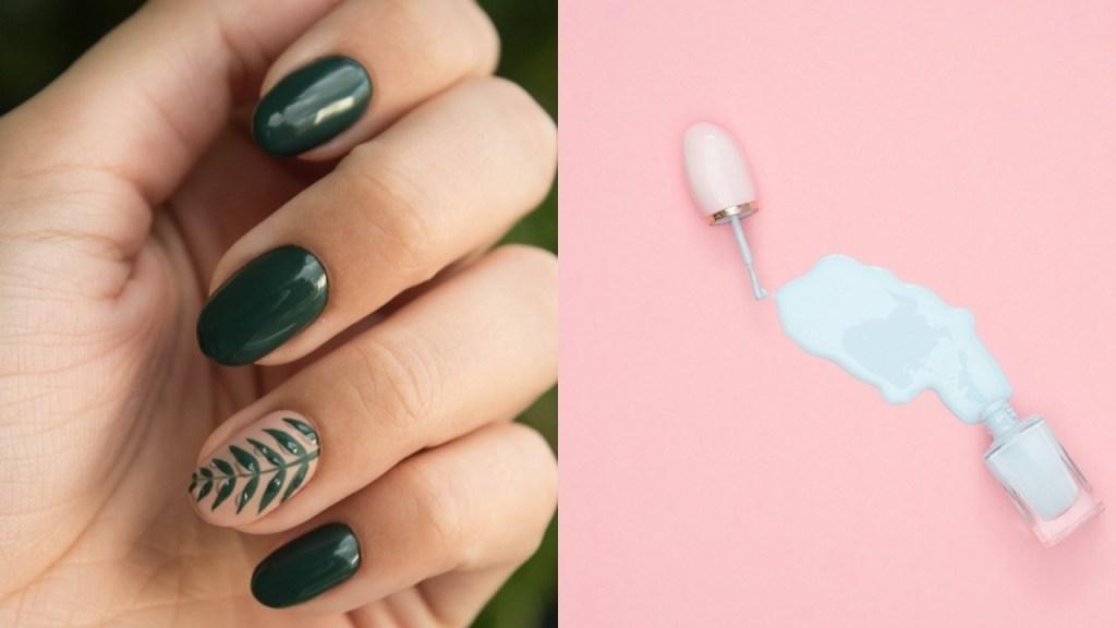 diseños de uñas faciles que puedes hacer en casa