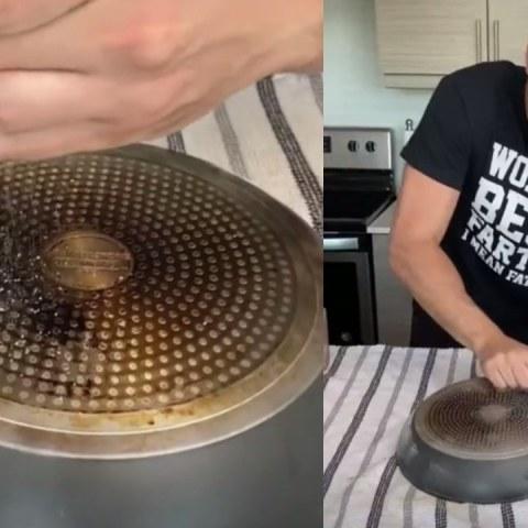 truco para quitarle lo quemado a sartenes utensilios de cocina