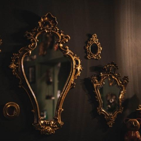 comprar espejo usado es de mala suerte