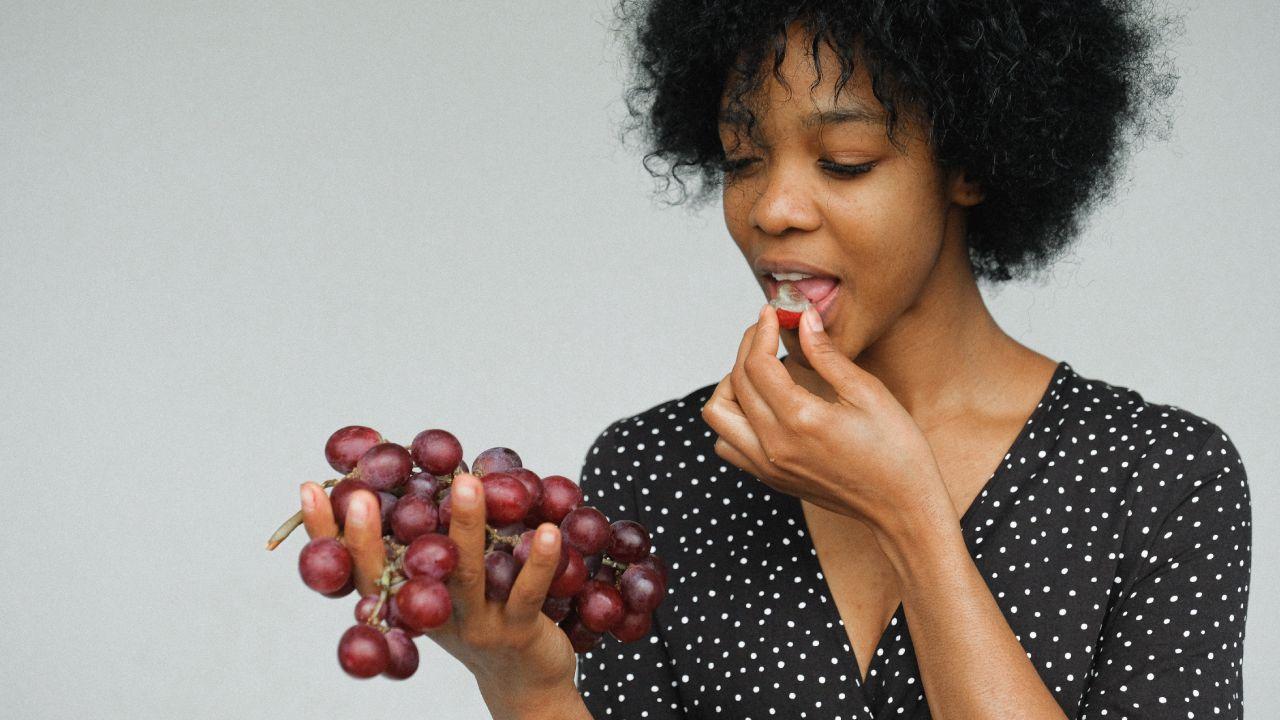 Uvas para la salud y la belleza