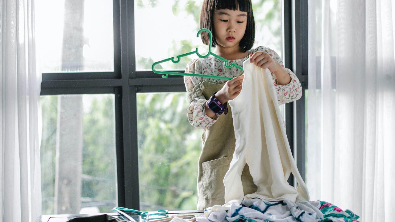 Reconoce el esfuerzo de los niños en las tareas del hogar