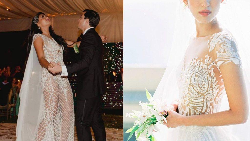 tendencia vestidos de novia transparentes