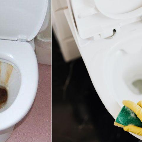 Cómo eliminar las manchas de sarro del inodoro
