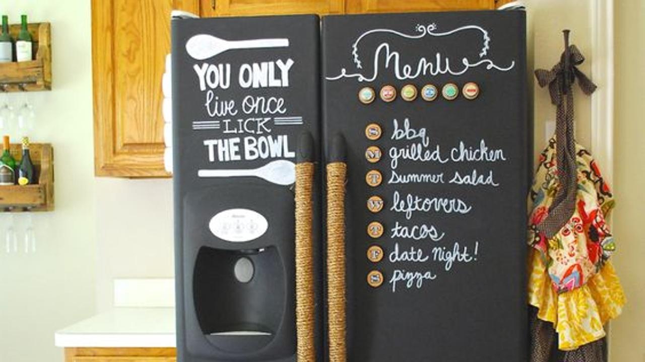 ideas para decorar refrigerador viejo
