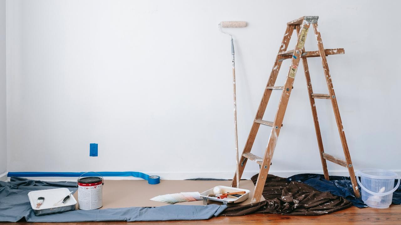 errores que debes evitar pintar paredes