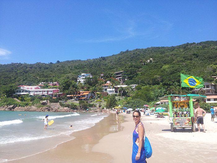 Playa de Lagoinha, en el norte de la isla.