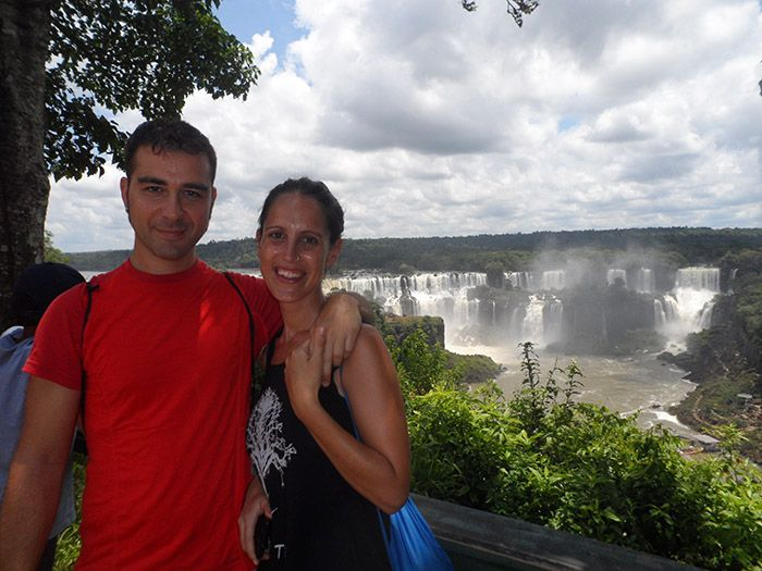 Llegada a la parte brasileña de las cascadas
