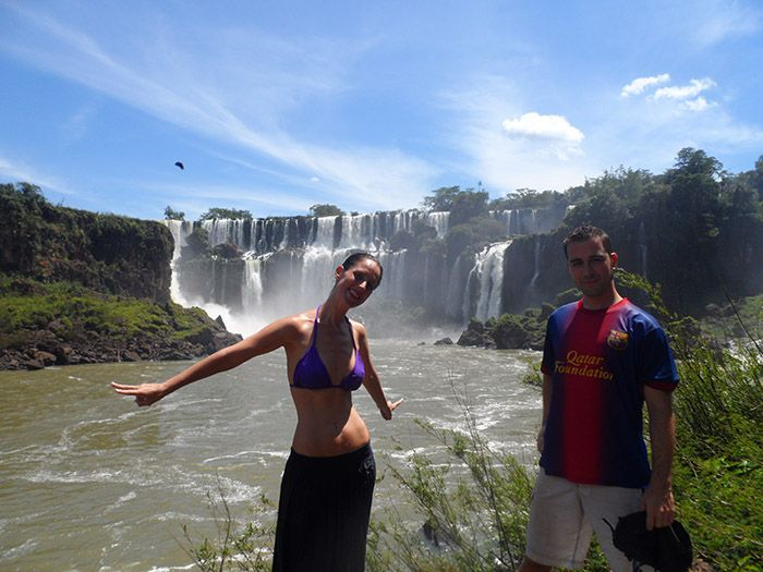 ¡Qué ganas teníamos de llegar a Iguazú!