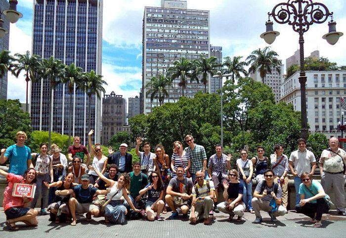Walking Tour en Sao Paulo, con un grupo de lo más variopinto