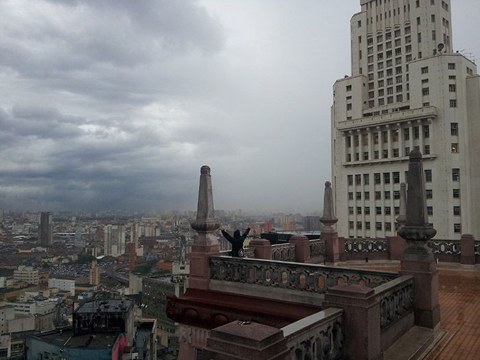 ¡En lo más alto del Edificio Martinelli!