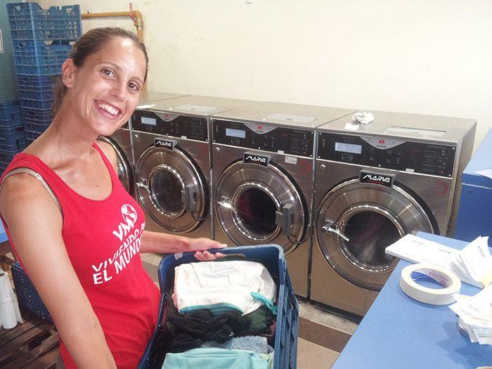 Por fin hacemos... ¡nuestra primera laundry!
