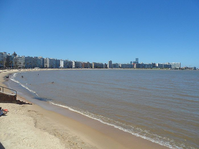 Playa de Pocitos, Montevideo