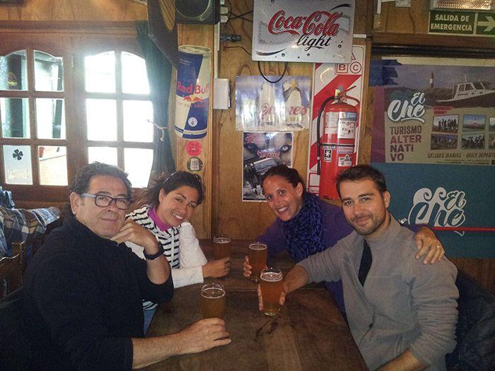 Unas buenas cervecitas con una compañía excelente
