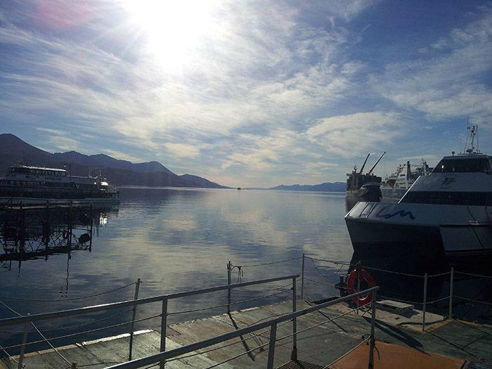 Increíble día para navegar