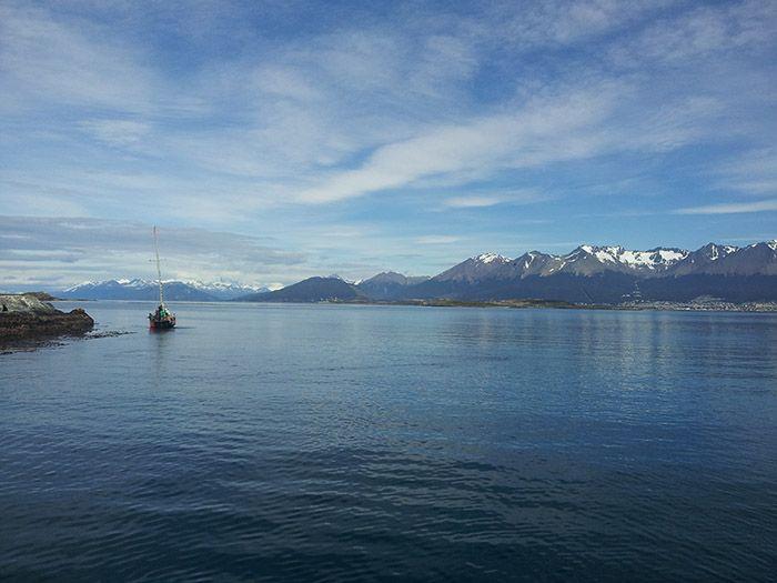 Las vistas desde el barco eran preciosas...