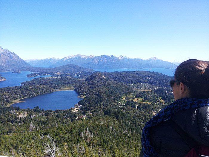 Las vistas desde el Cerro Campanario eran preciosas