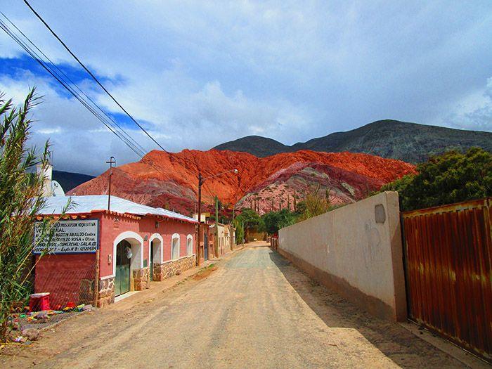 Purmamarca y sus casas de adobe