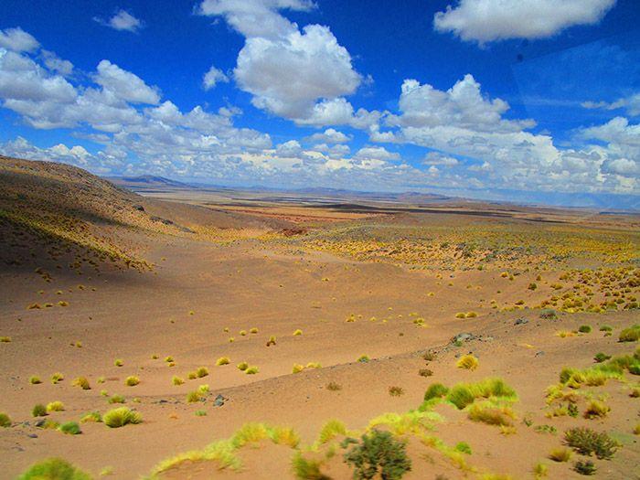 De Argentina a Chile por el paso de Jama