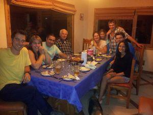 ¡Una gran cena familia!