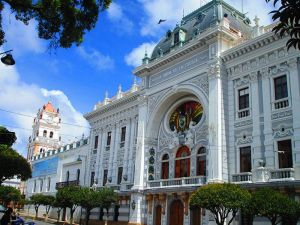 Plaza principal de Sucre