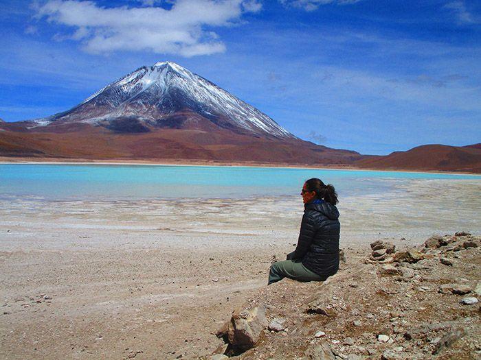 Laguna Azul, el color del agua no es pintado ¿eh?