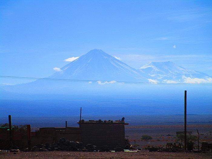 Espectaculares vistas saliendo de San Pedro de Atacama