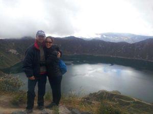 Laguna Quilotoa en Ecuador