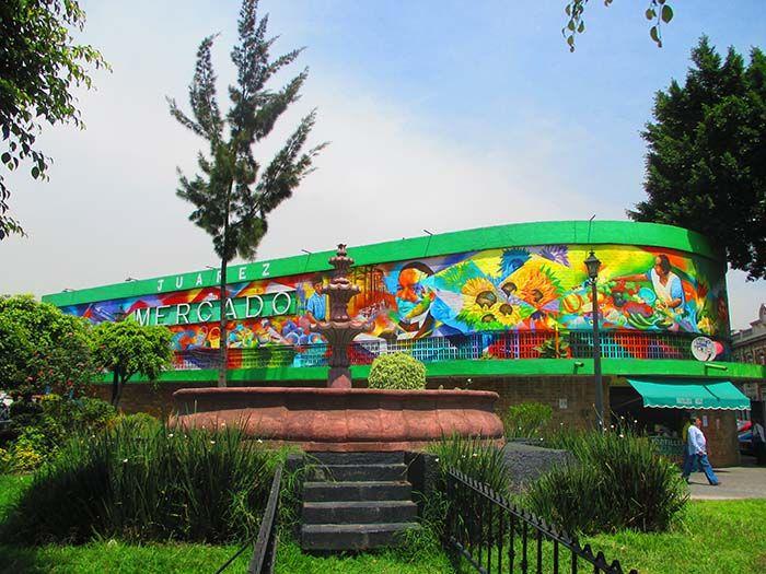 Mercado Juárez, Mexico DF