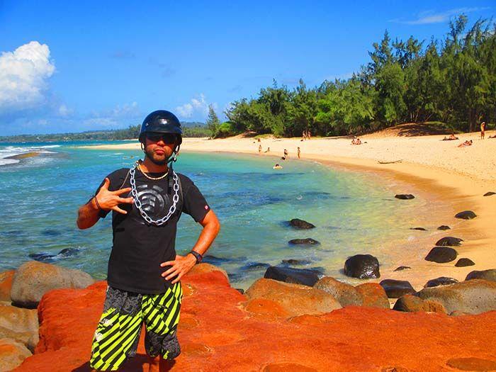 Baby Beach ¡siempre suele haber alguna tortuguita que otra nadando por allí!