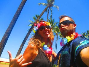¡Welcome to Hawaii pareja!
