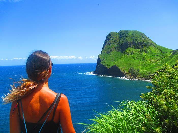 Increíble paisaje en la West Coast de Maui