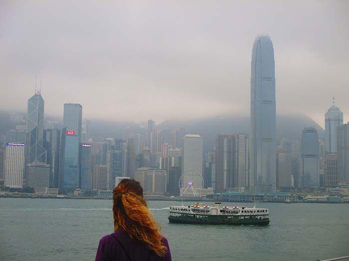 Skyline de Hong Kong Island