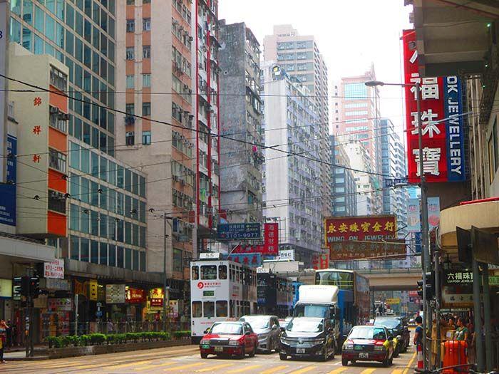 Tranvía Hong Kong Island