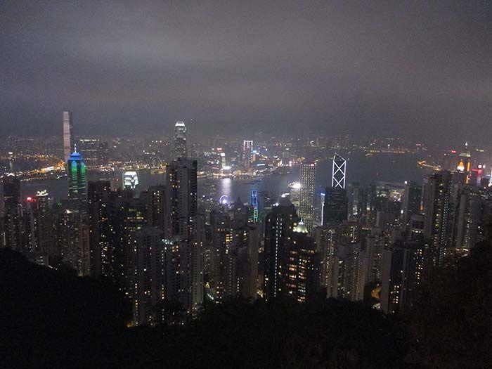 Espectaculares vistas de Hong Kong desde el Victoria Peak