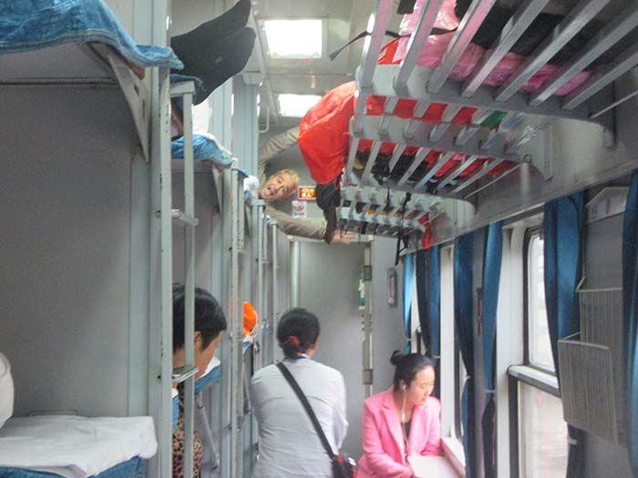 De Yangshuo a Zhangjiajie en tren