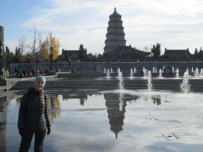 Big Wild Goose Pagoda en Xian