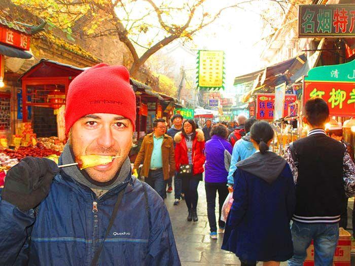 Divertidísimo barrio musulmán de Xian