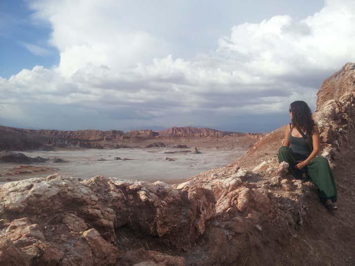Valle de la Luna, en San Pedro de Atacama, ChileValle de la Luna, en San Pedro de Atacama, Chile