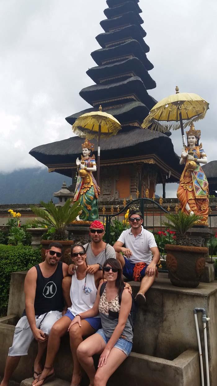 Templo Pura Ulun Danu Bratan, Ubud, Bali