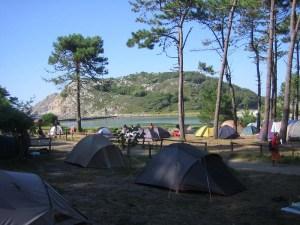 Camping en las Islas Cíes