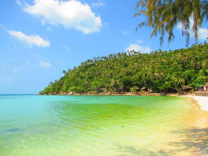 Playa Haad Salat, Koh Phangan, Tailandia