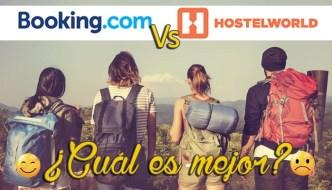 Alojamiento barato: Booking Vs Hostelworld ¿Cúal es mejor?