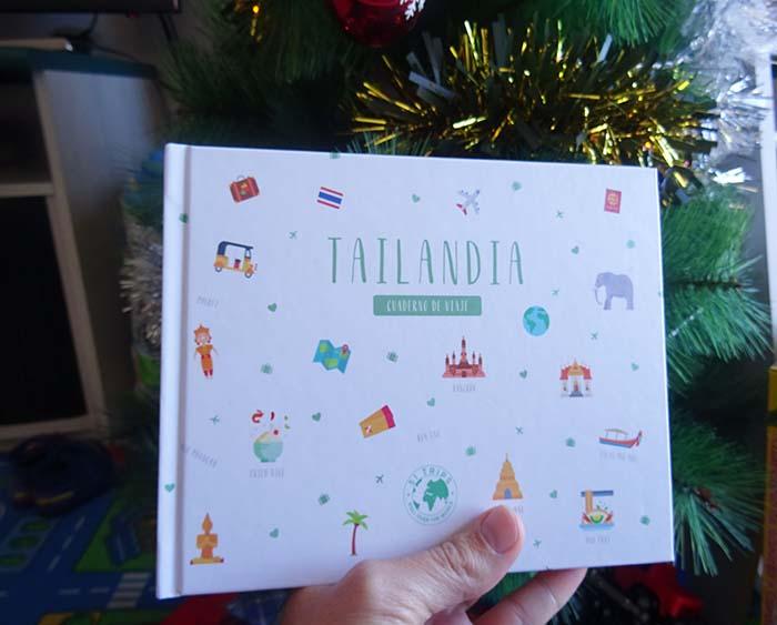 Cuaderno de viaje Tailandia