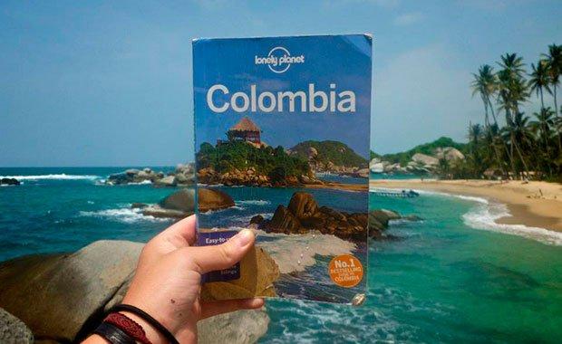 lonely-planet-colombia Regalos para viajeros