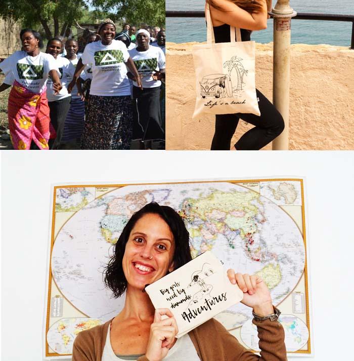 MissViajera Erika regalos solidarios para viajeras