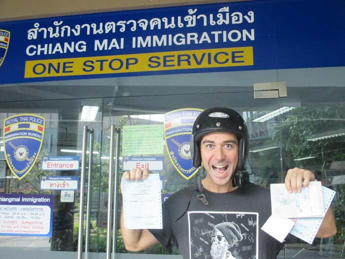 visado Tailandia