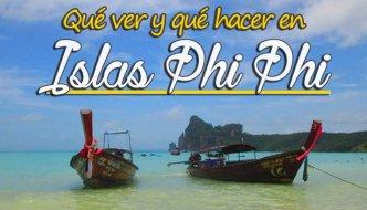 Que ver y qué hacer en islas Phi Phi