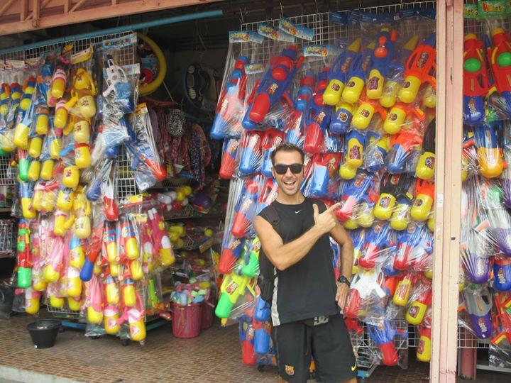 Songkran Pistolas de agua