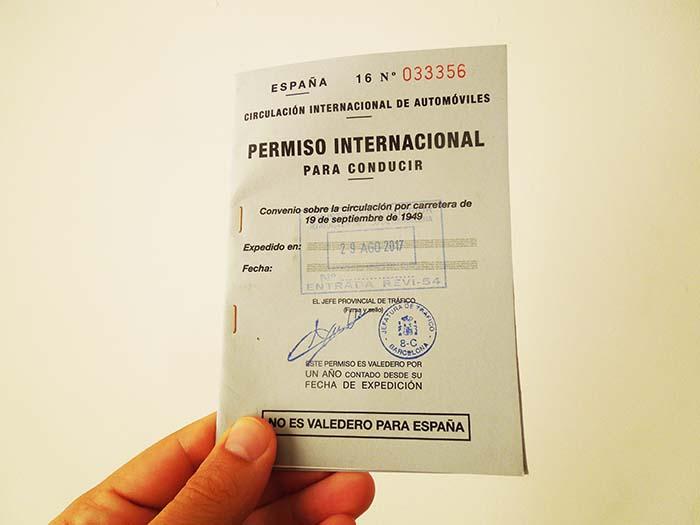 Carnet de conducir internacional