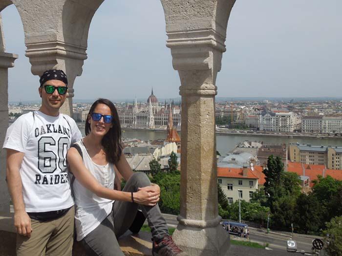 Vistas de Budapest desde el Bastión de los Pescadores